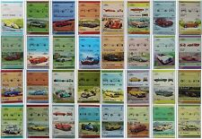 Multiple Car & Motoring Postal Stamps