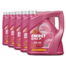 20 (5x4) Liter MANNOL Energy Ultra JP 5W-20 API SN / ILSAC GF-5