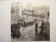 """EP 7"""" JULOS BEAUCARNE - Le Fossoyeur itinérant +3 - M/MINT - ALPHA 1016 -BELGIUM"""