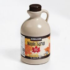 A Grade Kirkland Signature 100% Pure Maple Syrup 1 Litre Canadian Make Free Post