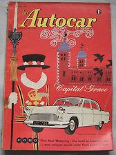 Autocar magazine 29/5/1959 featuring Pontiac Bonneville Sports Coupe road test