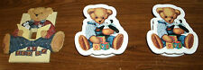 Blue Jean Teddy nursery/bedroom - light switch cover - valance