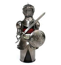 Knight Metal Wine Bottle Holder