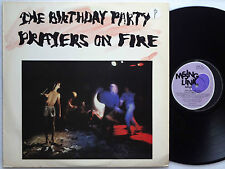 BIRTHDAY PARTY Prayers On Fire '81 PROMO Lp AUSSIE Rowland S Howard NICK CAVE