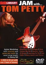 LICK LIBRARY Learn to Play JAM WITH TOM PETTY Free Fallin Falling GUITAR DVD