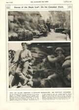 1916 Canadian Battalion Hq Mine-shaft Air-pump