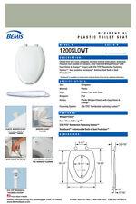 Bemis 1200Slowt-355 Elongated Plastic Slow Close Toilet Seat - Aspen Green