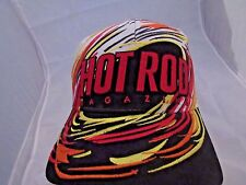 Hot Rod Magazine Baseball Cap Hat Adjustable