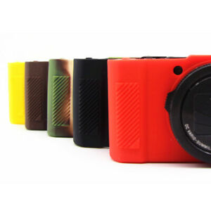 For Panasonic Lumix LX10 LX15 Silicone Soft Protective Skin Cover Skin Case