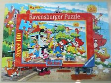 Ravensburger Puzzle 100 Pieces - Fix And Foxi Eat Ice (2000) Rolf Caucasus