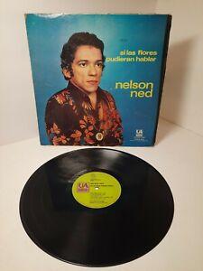 Nelson Ned Si Las Flores Pudieran Hablar LP Vinyl