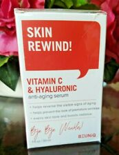 BeuniQ Vitamin C & Hyaluronic Anti Aging Serum 1 fl oz New & Sealed Fast Ship