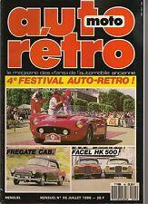 AUTO RETRO 95 FACEL VEGA HK500 FREGATE CABRIOLET CADILLAC 59 TALBOT LAGO RECOR