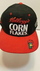 Vintage Terry Labonte Kellogg's Corn Flakes NASCAR Racing Snapback Cap Hat NEW