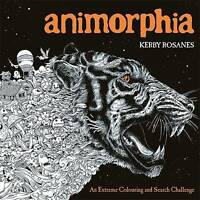 Animorphia: An Extreme Colouring and Search Chal, Rosanes, Kerby, New