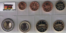 Euro GERMANIA 2008 - 8 PZ FDC in Blister -