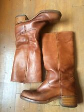 FRYE Boots Men Tall Western Boots 8.5 UK Made in USA. Cowboy. Texan.