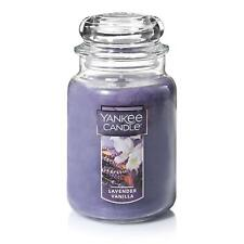 [YANKEE CANDLE] Lavender Vanilla Large Jar Candle,Fresh Scent
