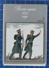 Russland 1812 3 Sammlung von Bild und Texttafeln B21796
