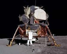 NASA APOLLO 11 BUZZ ALDRIN AND LUNAR LANDER 8x10 PHOTO