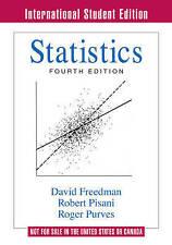 Statistics by Roger Purves, Robert Pisani, David Freedman (Paperback, 2007)