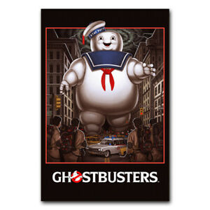 Ghostbusters Wall Movie Poster Film Art Print Picture Room Decor 24x36 inch