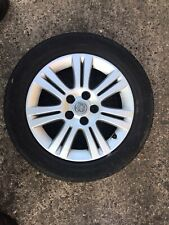VAUXHALL ZAFIRA B ASTRA H ALLOY WHEEL 16'' 0P026 AND TYRE 205X55X16 2004-2010