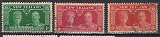 New Zealand 1935 KGV Silver Jubilee complete SG 573-5 Used