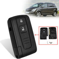 For Toyota Corolla Verso Prius 2 Buttons Smart Remote Key Fob Case Shell Cover