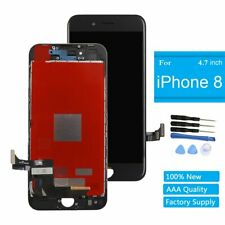 """For iPhone 8G 4.7"""" Screen Glass Replacement LCD Display 3D Touch Digitizer Black"""
