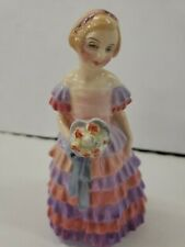 "1931 Royal Doulton ""The Little Bridesmaid"" Harradine Figurine Euc"