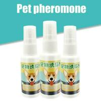 30ml Safety Dog Puppy Toilet Training Spray Pet Potty Pee Aid Pads Cat Q9J6