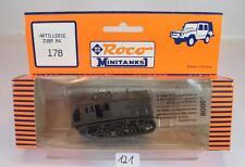 Roco Minitanks 1/87 No. 178 artillerie tracteur m4 militaire OVP #121