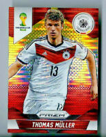 2014 Panini Prizm WORLD CUP YELLOW RED PULSAR REFRACTOR #93 Thomas Muller SP 🔥