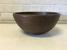 Antique Primitive 19th Century American AAFA Folk Art Turned Wood Bowl