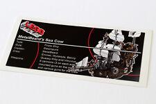 Lego Movie UCS Sticker for MetalBeard's Sea Cow 70810