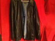 Wilson's Leather Pelle Studios Jacket Thinsulate, Black, Large. Winter is Coming