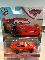 Disney Pixar Cars - Rusteze Lightning McQueen Mattel Official Diecast MattelCars