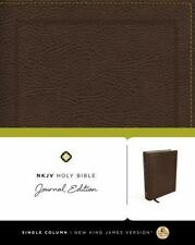 NKJV, Holy Bible by Thomas Nelson (2016, Brown Bonded Imitation Leather)