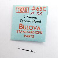 Bulova 10AK Sweep Second Hand Watch Part #65C B20 NOS Watchmakers