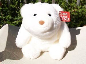 "RARE GUND- 13"" SNOWFLAKE WHITE- SHIMMER SNUFFLES-#15087- 2003-VERY NICE-ALL TAGS"