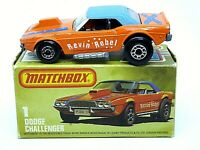 Matchbox Lesney No.1g Dodge Challenger In Type 'L' Box (VERY RARE BOX)