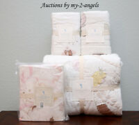 NEW Pottery Barn Kids ISABELLE MERMAID CASTLE Twin Quilt +Shams +Sheet Set IVORY