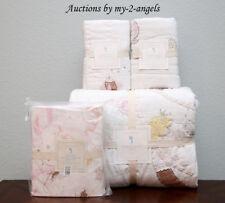 New Pottery Barn Kids Isabelle Mermaid Castle Twin Quilt +Shams +Sheet Set Ivory