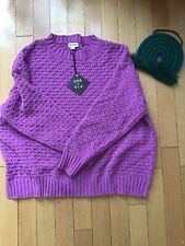 AVA + VIV 3X Purple Women's Sweater NWT New Pull Over Knit Comfy