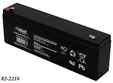 Gel AGM Batterie Xtreme 12V 2,3Ah zyklenfest wartungsfrei ersetzt 2,2Ah 2,4Ah