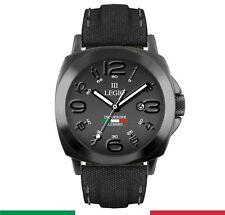 Orologio Militare Italiano TERZA LEGIO Julia da Polso INCURSORE Datario NERO