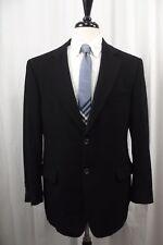 Jos. A. Bank Mens Sport Coat 40R 100% Cashmere Blazer 2 Btn Jacket Black Suit