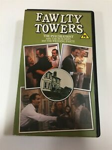 Fawlty Towers The Psychiatrist VHS Tape