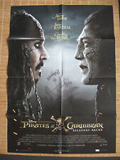 Pirates of the Caribbean 5 Salazars Rache Poster, Filmposter A1 ~ Johnny Depp